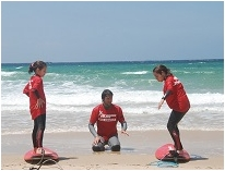 Surfing tuitions for kids. We speak English !